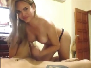 blonde blonde tranny blows Her Boyfriend tranny