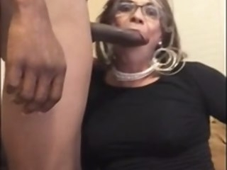 mature mature sissy gets bred by BBC daddy sissy