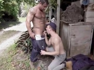 dad hot boy and dad sex outdoor sex