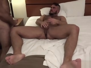 muscle Muscle Bear raw With cumshot bear